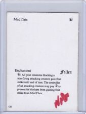 MTG Tidal Flats PLAYTEST CARD from Fallen Empires misprint error RARE!