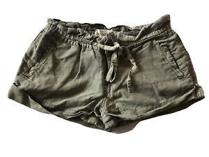 Aeropostale Women's Junior Military Green Short Shorts Size 5/6