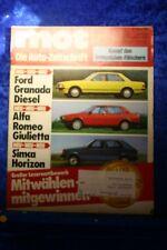 MOT 26/77 Ford Granada Diesel Alfa Romeo Giulietta Simca Horizon