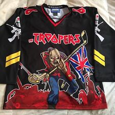 Custom Iron Maiden Eddie Hockey Jersey 666 The Beast XL Black