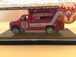 Matchbox Ford Ambulance Everett Marshall Charities Golf Model