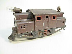Ives 3252 NYCHR Electric Loco Dark Maroon Prewar O Gauge X7309