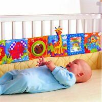 doppel - farbe bett stoßstange die stoff - buch baby - spielzeug bettzeug herum