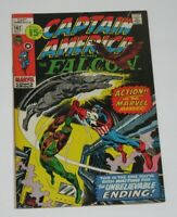 Captain America #142 Grey Gargoyle Appearance 1971 Marvel Comics FN/VF