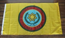 Eastern Band of the Cherokee Nation Banner Flag Native American Indian Yellow