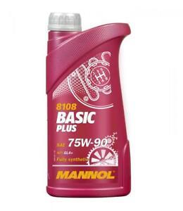 MANNOL 1L Synthetic Gear Oil 75w-90 GL-4 VAG FORD