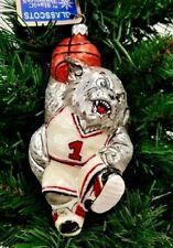 Slavic Treasures Cincinnati Bearcats Basketball Blown Glass Ornament 6' R3