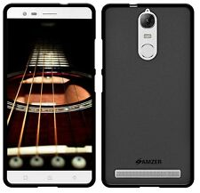 Amzer Pudding TPU Cover Case for Lenovo K5 Note - Black