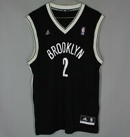 BROOKLYN NETS ADIDAS NBA BASKETBALL JERSEY SHIRT ADIDAS #2 KEVIN GARNETT
