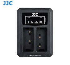 JJC DCH-NPW126 USB Dual Battery Charger for Fujifilm NP-W126/NP-W126S  B-NPW126