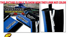 "ZIP-ON'S RED Seal Savers  MX Dirt Bike Fork Seal Protectors 1-3/4"" 44-50mm"