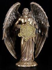 Erzengel Metatron Figur bronziert - Engel Deko Figur Heiligenfigur