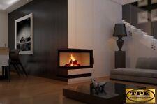 MAJA 8 DECO left or right -Corner Cast Iron Wood Burner/ Stove/ Fireplace Insert