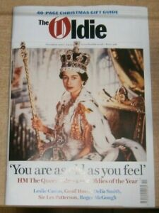 The Oldie monthly magazine #406 Nov 2021 HM The Queen salutes Oldies of the Year