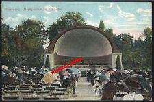 Wiesbaden-Musikpavillion Curgarten-1915-Kunstkarte-Feldpost-Darmstadt-Hessen-10