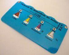Widerstandsuhr vitrohmeter vitro metri blu per resistenza serie e192 codice colore