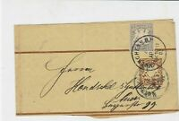 germany 1902  stamps wrapper ref 21047
