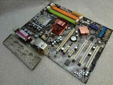 MSI MS-7392 P31 Neo Socket LGA 775 Motherboard with Intel CPU & Back Plate