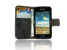 Schutzhülle Schutztasche für Samsung Galaxy Ace 2 i8160 + Folie // Anthrazit