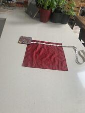Red Solid Mens Silk Pocket Square Handkerchief For Jacket Top Pocket Mod