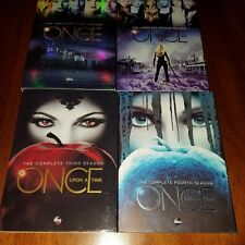 Once upon a time seasons 1-4 DVD ABC studios complete good evil speelbound