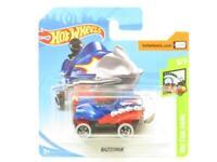 Hotwheels Bazoomka Blue HW Fun Park Short Card 1 64 Scale Sealed