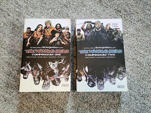 The Walking Dead Compendium 1 & 2 Image Comics Graphic Novel
