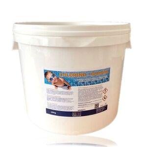 KCW® - Chlor Granulat Schnelldesinfektion Qualität für Ihr Poolwasser 10kg Eimer