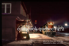 Grand Trunk Railway 4601 frt 393 Coaticook Quebec  feb 18 1972