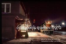 Grand Trunk Railway 4601 frt 393 Coaticook Quebec  feb 18 1972