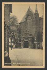 Enkhuizen  Hoofd Ingang Westerkerk