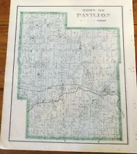 1876 Ny Town of Pavilion Genesee Co Atlas Map