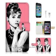 ( For iPhone 8 Plus / iPhone 8+ ) Case Cover P0399 Audrey Hepburn