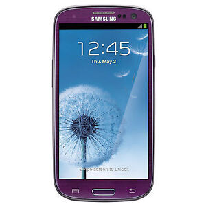 "Sprint Samsung L710 Galaxy S3 CDMA Android 16GB WIFI 8MP 4.8"" HD Amethyst Purple"