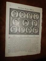 1884-5 & 1885-6 Blackburn Rovers Football club - FA Cup Winners