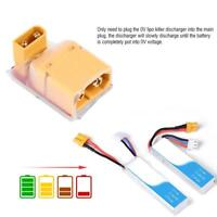 LiPo Battery 0V Killer Battery Discharger XT60 XT30 Plug Connector RC Part ❤lo