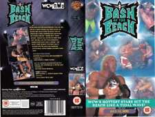 WCW Bash at the Beach 1999 - UK VHS VIDEO Sting, Savage (WWE/WWF)