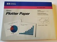 HP Glossy Plotter Paper ( 100 Sheets , 8.5x11 ) For Paper Plot ( 17900G )