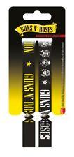 2 Guns N Roses Festival Woven Fabric Wristbands Bracelets Axl Rose Official