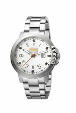 Just Cavalli Men's JC1G016M0065 ROCK Rock Luminous Stainless Steel Date Watch