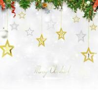 Hollow Five-pointed Star Shape Hanging Ornaments Wedding Christmas Party Decor