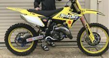 Restyle SUZUKI GRAPHICS KIT RM 125 / 250 2001 - 2008 AMA Supercross motocross