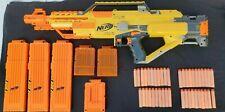 NERF N-Stirke Stampede ECS Nerf Gun Hasbro Full Auto Dart Blaster Lot USED works
