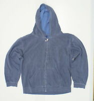 New Comfort Colors Youth Full Zip Hooded Sweatshirt Blue Large 06238