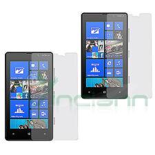 2x Pellicola protettiva display trasparente per NOKIA Lumia 820 resistente