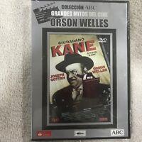 CIUDADANO KANE JOSEPH COTTEN ORSON WELLES DVD NUEVO NEW PRECINTADO
