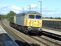 Class 56 56312 & 47812 6x4 Quality British Rail Photo