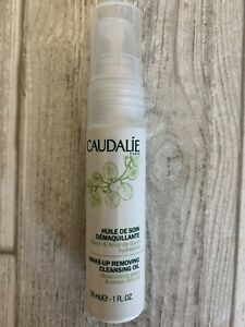 Caudalie Make-Up Removing Cleansing Oil NEW 1 oz 30ml Travel Mini FREE SHIPPING