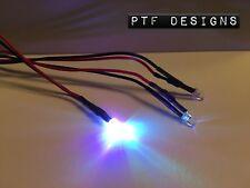3 COLOR CHANGING LED Light Set Model Train Layout Buildings Etc 9-12 Volt DC
