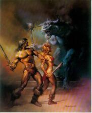 Boris Vallejo postercard: deathstalker IV (estados unidos, 1992)